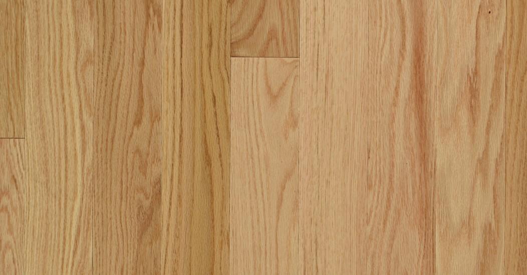 Smooth Red Oak Natural Vintage Hardwood Flooring