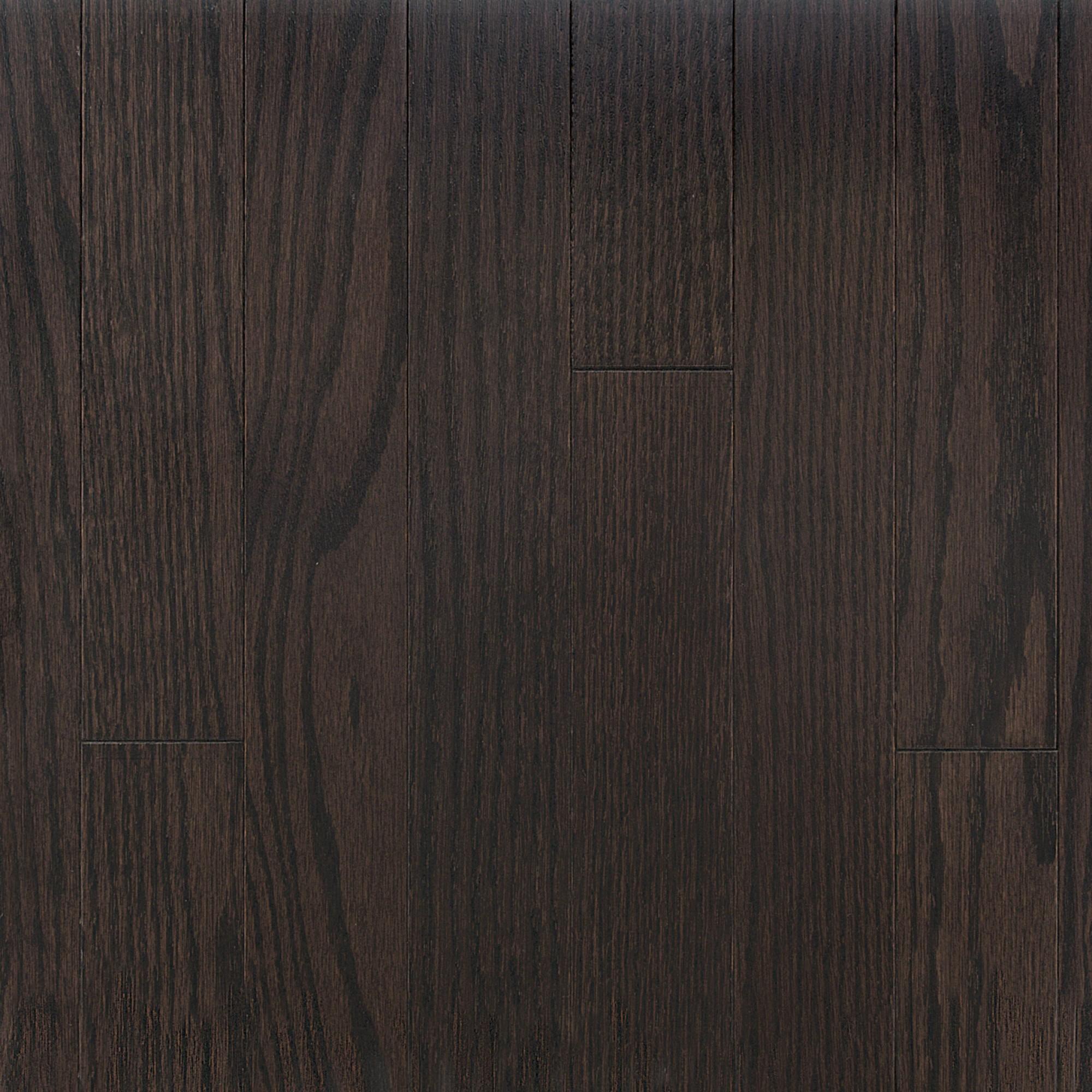 Smooth Red Oak Cocoa Vintage Hardwood Flooring