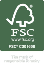 FSC - www.fsc.org - FSC C001658 - The mark of responsible forestry