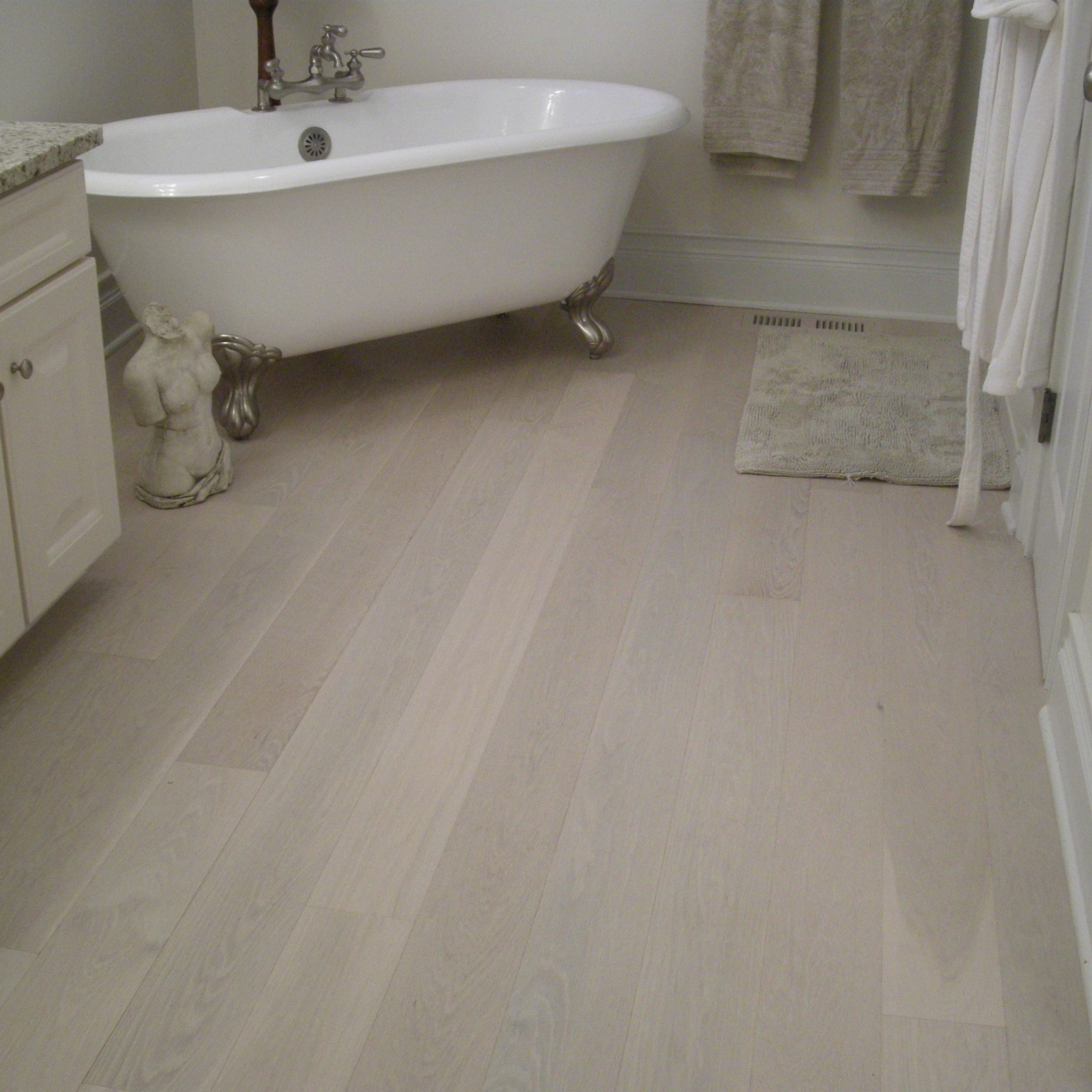 Hand Scraped White Oak Oracle Vintage Hardwood Flooring And