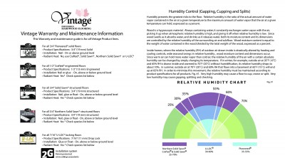 Warranty and Maintenance Information