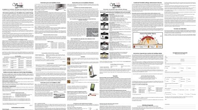 Guide d'installation et entretien