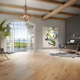 White Oak Nautilus - floor