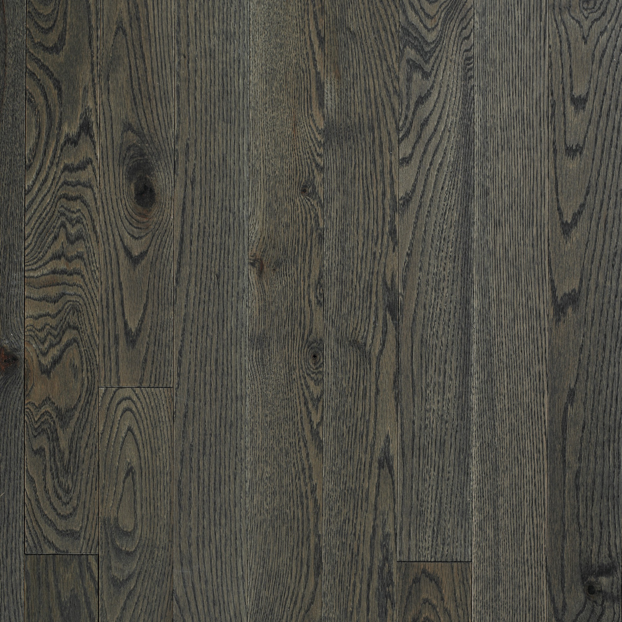Wire Brushed Red Oak Pewter Vintage Hardwood Flooring