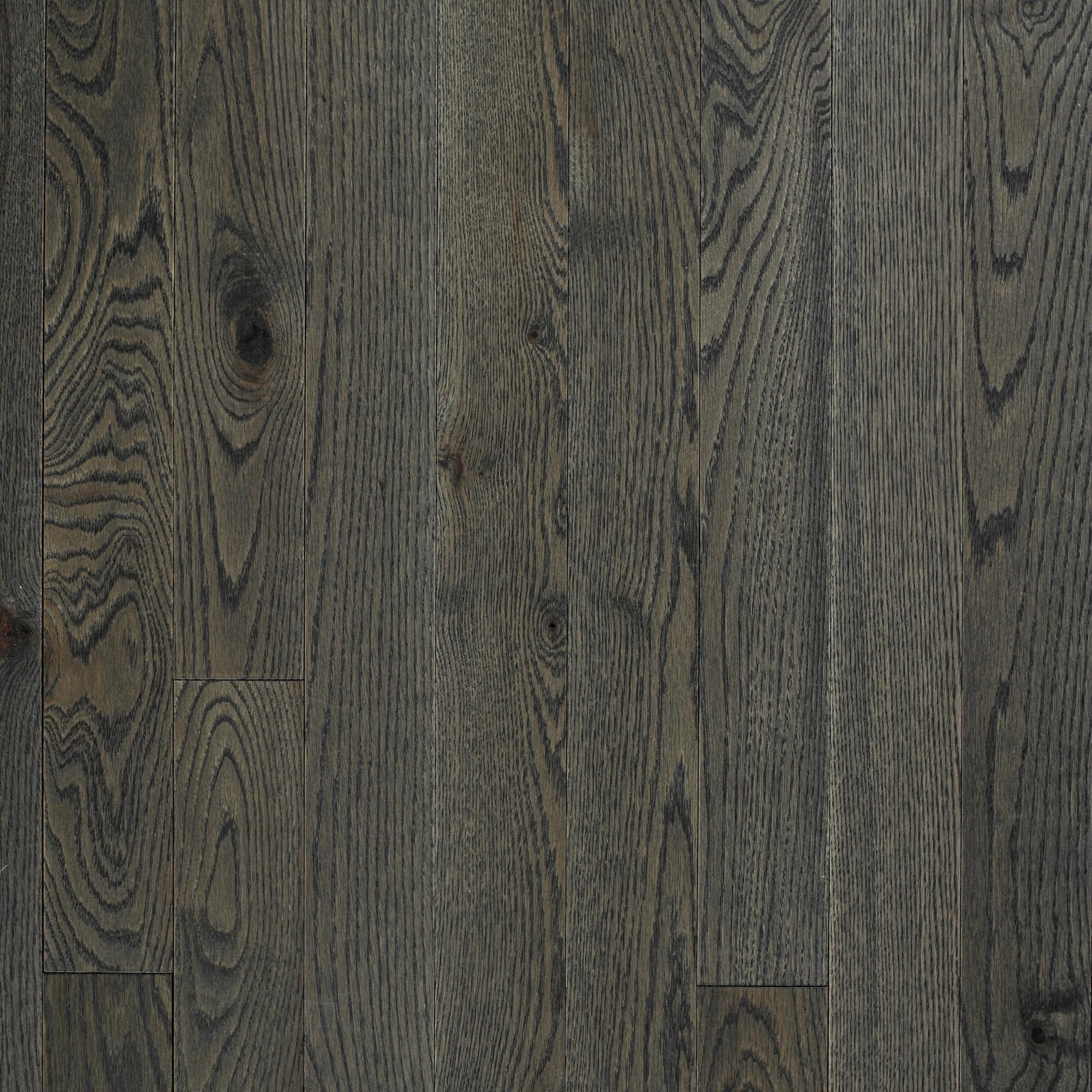 Wire Brushed Red Oak Pewter Vintage Hardwood Flooring