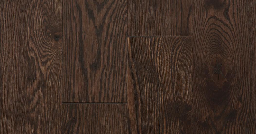 Wire Brushed Red Oak Cocoa Vintage Hardwood Flooring