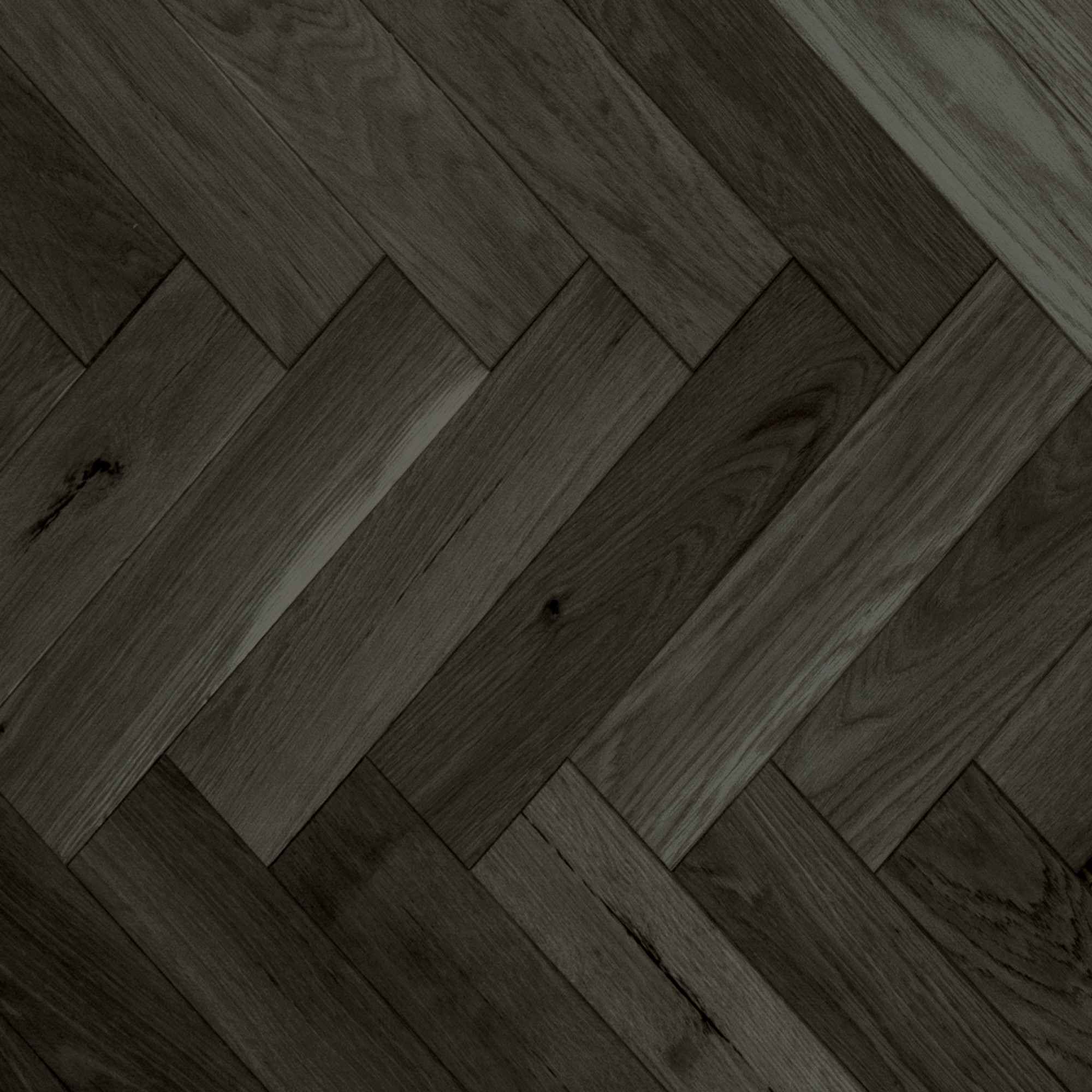 Herringbone Red Oak Pewter Smooth