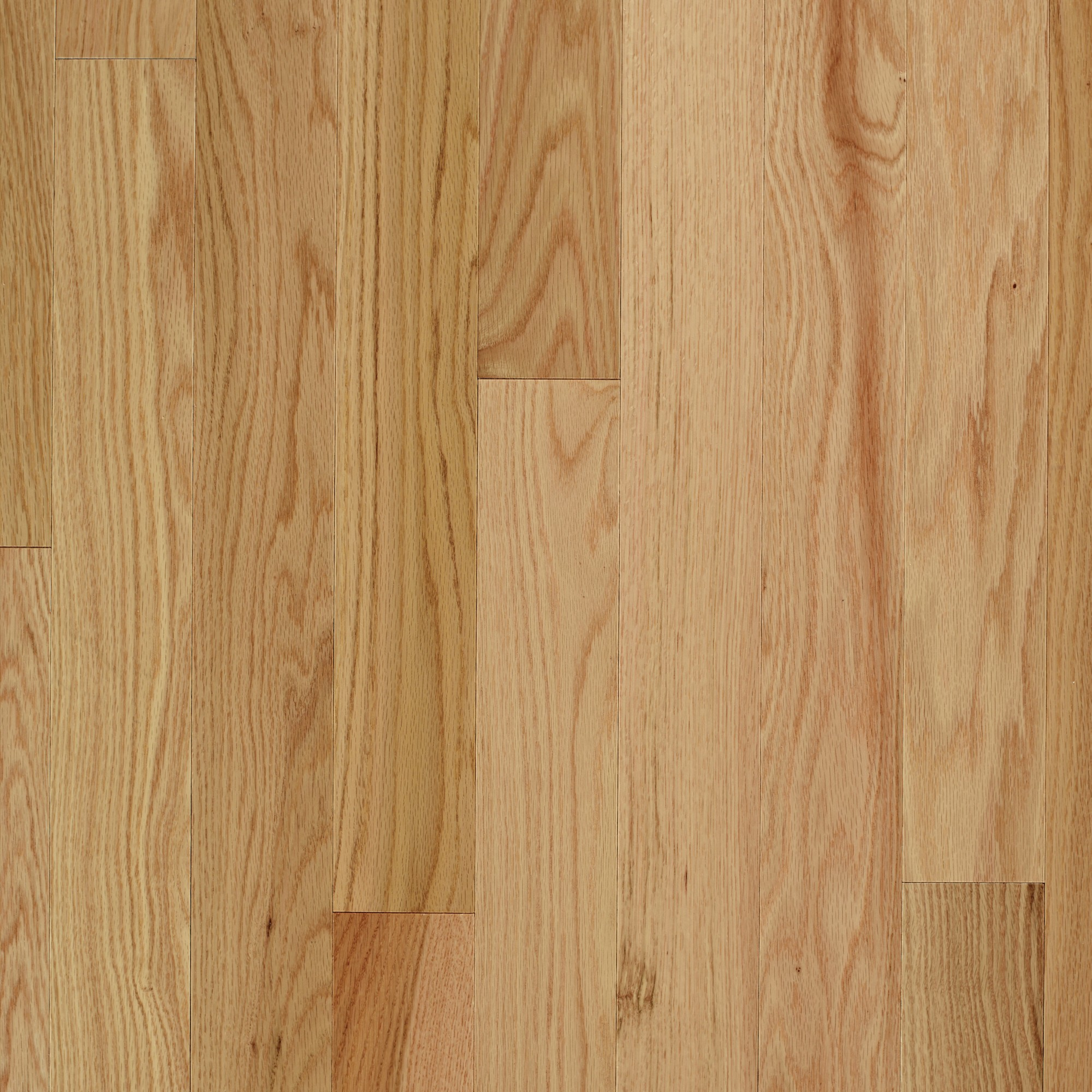 Smooth Red Oak Natural Vintage Hardwood Flooring And