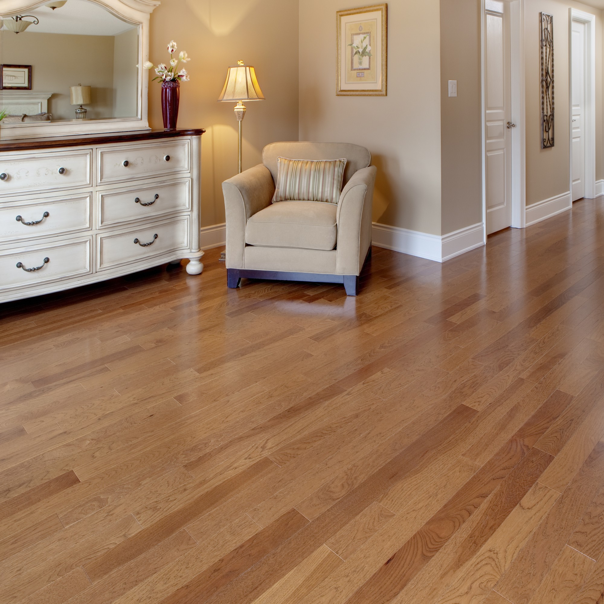 Smooth Hickory Chivas Vintage Hardwood Flooring And