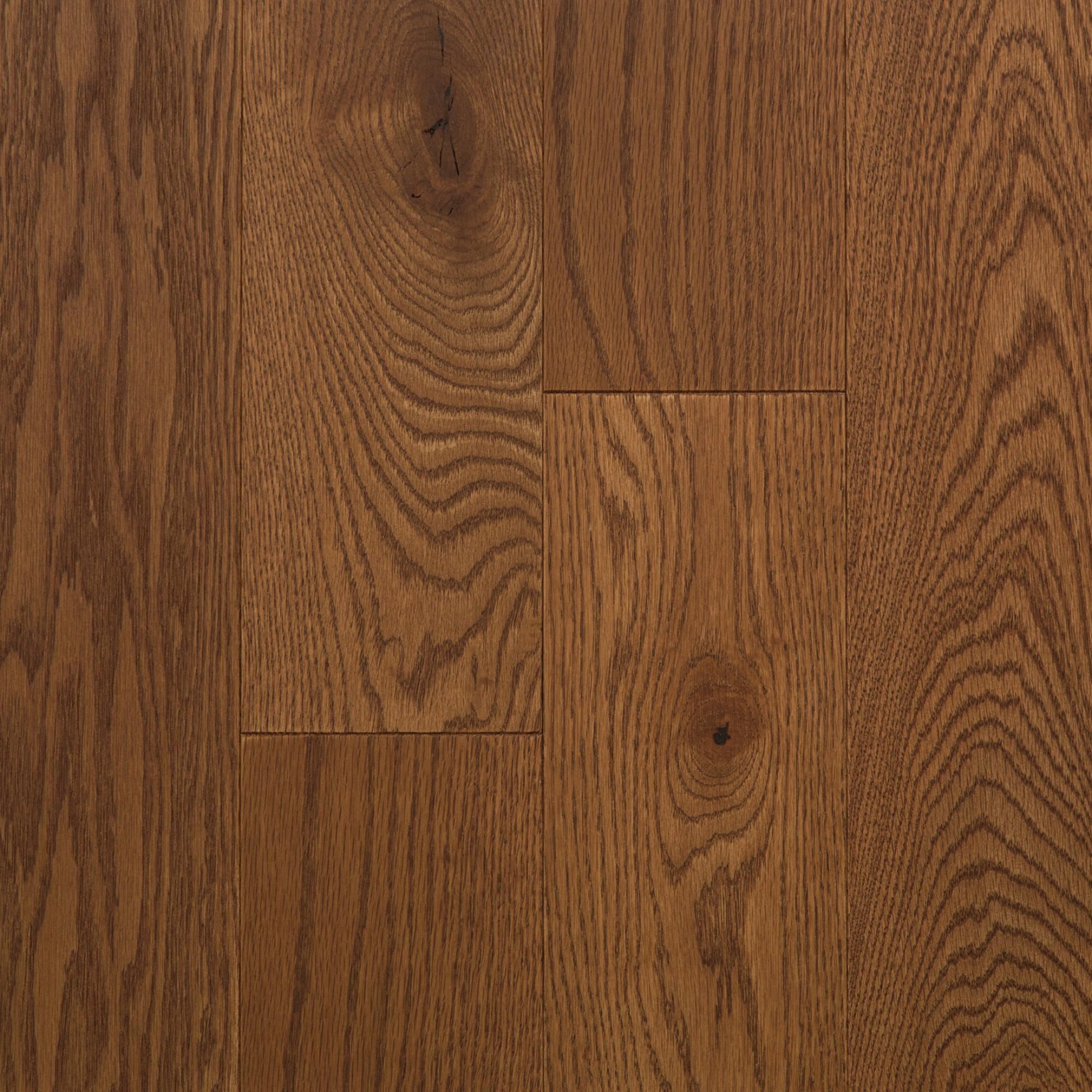 Wire Brushed Red Oak Kahlua Vintage Hardwood Flooring