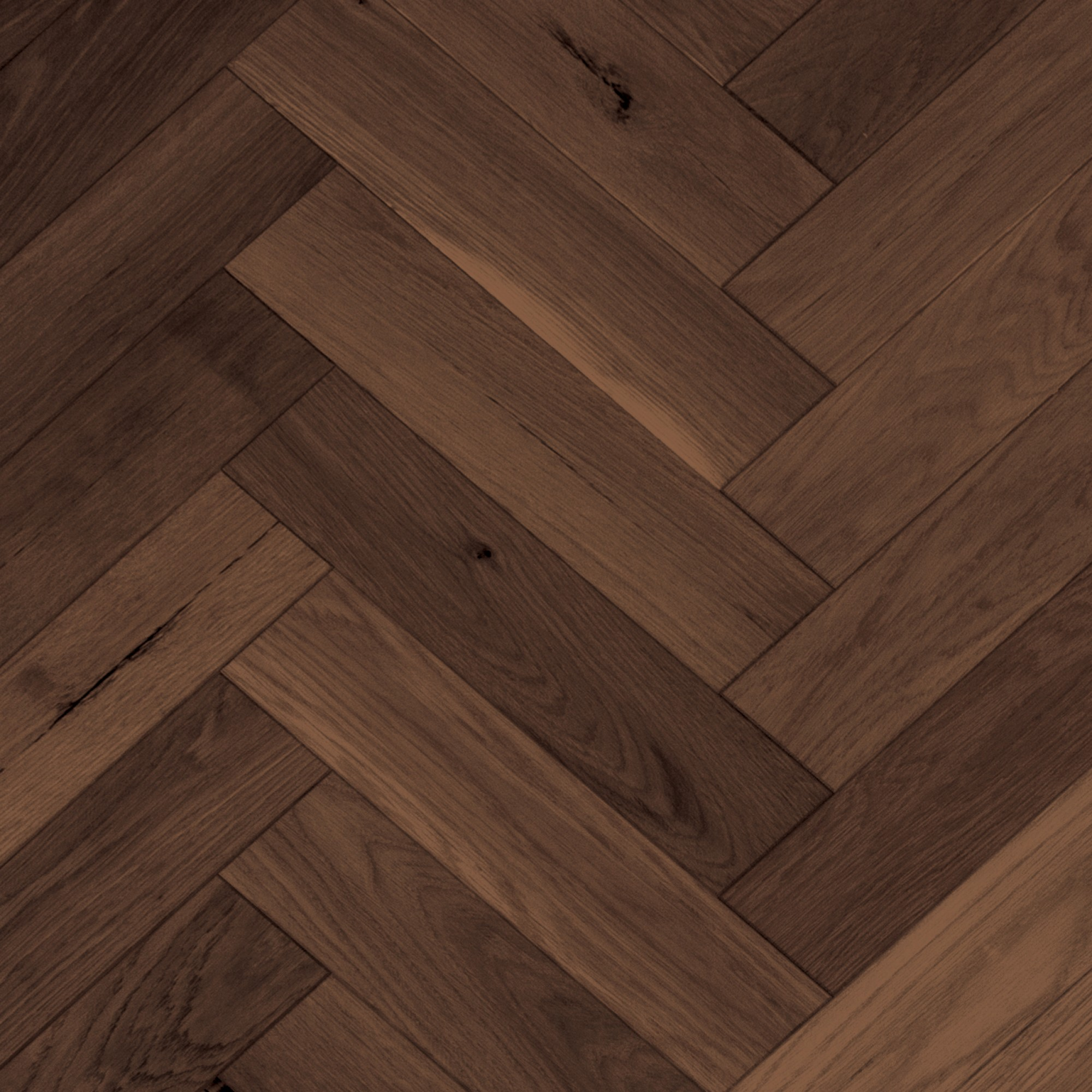 Herringbone Red Oak Berkshire Wire Brushed Vintage