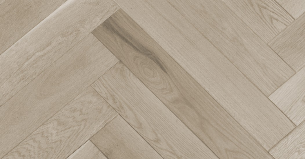 Herringbone White Oak Atlantis Wire Brushed Vintage