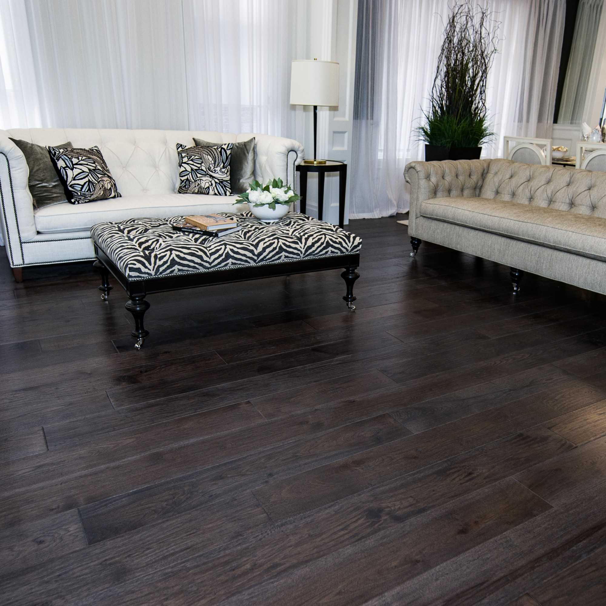Hand Scraped Maple Oxford By Vintage Hardwood Flooring: Hand Scraped, Hickory Mesquite