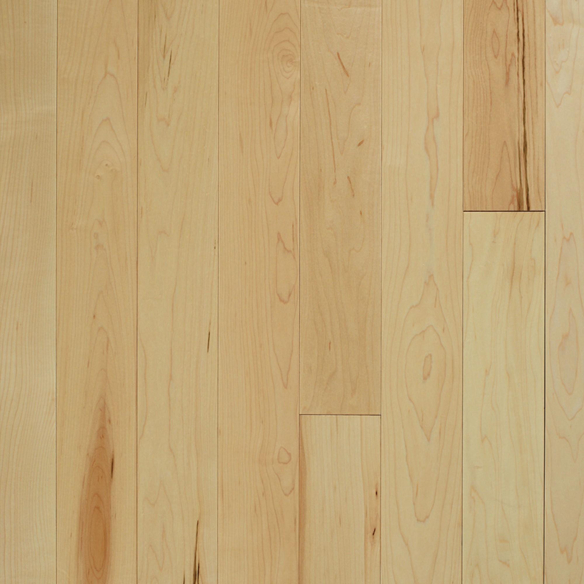 Smooth Maple Natural Vintage Hardwood Flooring And