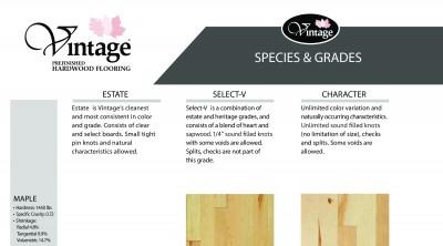 Species & Grades